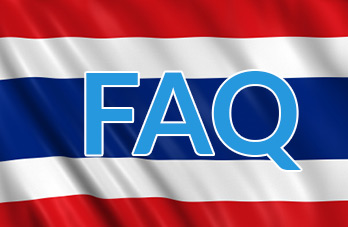 FAQ Thailand shipping