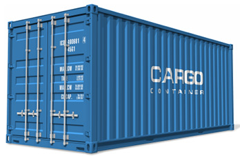 Seafreight with full container